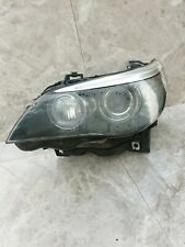 BMW E60 E61 LCI BI-XENON ADAPTIVE HEADLIGHT + CONTROLLERS PASSENGER SIDE...