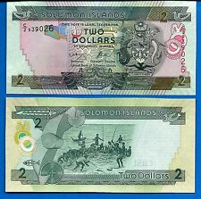Solomon Islands P-25 Two Dollars Year ND 2004 Uncirculated Banknote