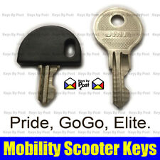 Pride, GoGo, Elite Spare Replacement Mobility Scooter Ignition on/off key