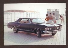 1965 BUICK RIVIERA CAR DEALER ADVERTISING POSTCARD COPY