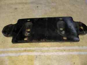 MGB Rear License plate mount  bracket Free S&H