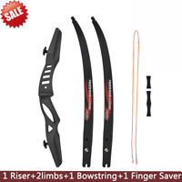 "68"" ILF Takedown Recurve Bow Archery 15-25LBS 1 Set For Shooting Right/Left Hand"