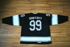 VINTAGE LOS ANGELES KINGS WAYNE GRETZKY #99 CCM JERSEY THROWBACK SIZE XL RARE