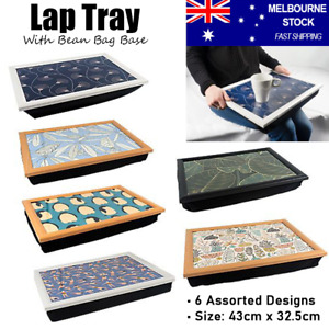 Bean Bag Lap Tray Table TV Dinner Table Breakfast Serving Coffee Laptray Bed