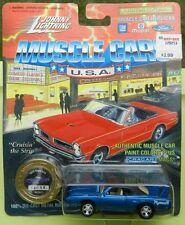 #2 BLUE B5 PLYMOUTH SUPERBIRD ROADRUNNER 1995 1970 MOPAR 70 JOHNNY LIGHTNING JL