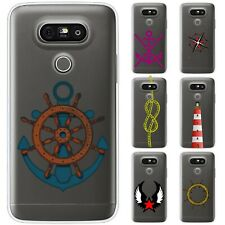 Dessana Maritime TPU Silicone Protective Cover Phone Case Cover For LG