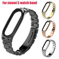 Stainless Steel Bracelet Replacement Watch Band Strap For Xiaomi Mi Band 3 Hot