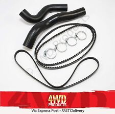 Radiator Hose & Belt SET - Landcruiser HDJ78 HDJ79 4.2TD 1HD-FTE (01-07)