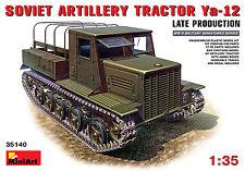 MIN35140 Miniart 1:35 Ya-12 Dernier Production Soviétique Artillerie Tracteur