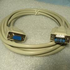 GCE 64-4016 10 ft. VGA Monitor Extension Cable HD15(M)-HD15(F)  15-Pin on 3 Rows