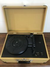Vintage Crosley Model CR49 Portable Record Player Turntable Tested
