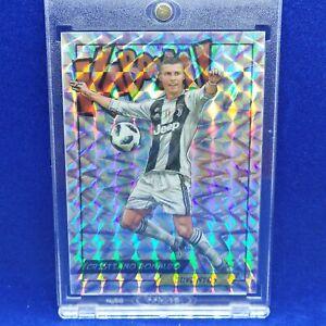 Cristiano Ronaldo 2018 Kaboom Holo Sticker Juventus MINT