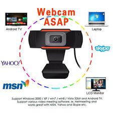 Webcam Auto Focusing Web Camera 1080P HD Cam Microphone For PC Laptop Desktop US