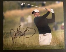 Rory Mcilroy Signed 8x10