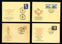 Germany Berlin 15x Early First Day Covers w/ Stamps