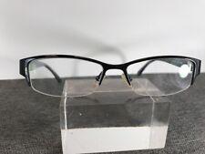 Chloe Eyeglasses C1223 C01 51-16-135 Half Rim Black D493