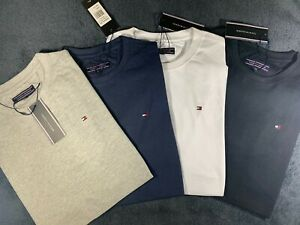 Tommy Hilfiger Crew Neck  Short Sleeve Cotton T shirt