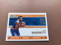RJ Barrett Rookie Card: 2019-20 Panini - Contenders Basketball - Draft Class