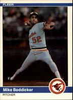1984 Fleer Baseball Base Singles #1-289 (Pick Your Cards)