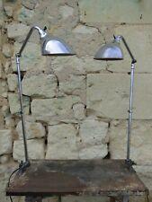 Rare paire de lampe d'atelier KI E KLAIR 1950 - 60. Période Prouvé, GRAS, JIELDE
