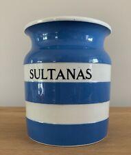 Nice T G Green Cornish Ware Sultana Jar 1.5 Pints