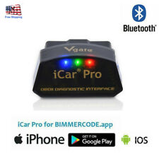 Vgate iCar Pro Bluetooth 4.0 Obd2 Bimmercode Bmw Coding For iPhone iPad Android