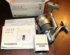 SHIMANO SYNCOPATE 4000FA SPINNING REEL with a EXTRA SPOOL Fishing Pole Gear