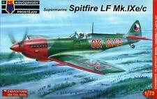 Spitfire LF Mk. IXC tarde/Ixe (griego, italiano & Checoslovaca MKGS) 1/72 Kovozavody