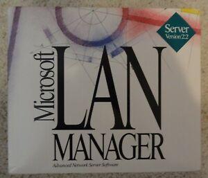 Vintage Software - Microsoft LAN Manager OS/2 Network Operating System