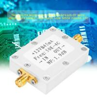 LNA Low Noise 50K-4G 25DB @ 0.8G High Gain Flatness RF Amplifier Radio Module US