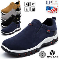 New Original Men's Hiking Shoes Slip On Casual Sport Outdoor Athletic Shoes Size