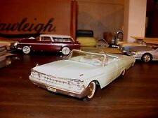 1961 Mercury Monterey conv. 1/25 scale friction promo model - nice display piece
