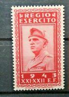 ITALIA REGNO 1943 REGIO ESERCITO - FRANCHIGIA NUOVO MNH** STAMP (CAT.A)
