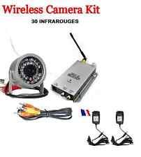 Camera Couleur SANS FILS-vision nocturne 30 INFRAROUGE-Espion-Video Surveillance