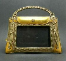 Decorative Metal Picture Frame in Purse Shape