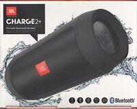 JBL Charge 2+ in Schwarz - Bluetooth Lautsprecher / Portable Speaker - Neu & OVP