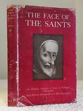 THE FACE OF THE SAINTS By Wilhelm Schamoni- 1948 1st ed. Catholic saints, images