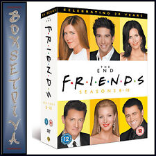 FRIENDS -  COMPLETE SERIES SEASONS 8 9 & 10 **BRAND NEW DVD BOXSET*