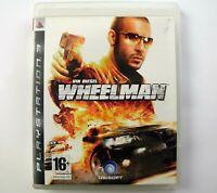 Vin Diesel Wheelman Playstation 3 PS3 PERFECT DISC Fast Ship World!