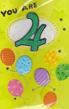 You Are 4 Birthday Greeting Card