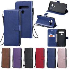 For LG K61 K51 K41s K50s Q60 K40 V50 G8X G9 Book Wallet Leather Flip Cover Case