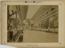 France, Paris, La Galerie des Batailles  Vintage albumen print, France Tirage