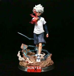 Anime Hunter × Hunter GK Killua Zoldyck PVC Figure Model Toy New No Box 27cm