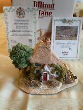Lilliput Lane Gardener's Cottage Collector's Club box&deeds Excellent Condition