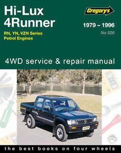Toyota Hilux/4Runner Petrol RN, YN & VZN from 1979-1996 with MPN GAP05526