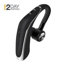 New OEM Honbios Noise Suppression Universal Bluetooth Wireless Mic Headset Black