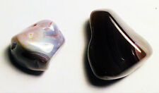 100 cts ASSORTED TUMBLE POLISHED BOTSWANA AGATE AFRICA # 52