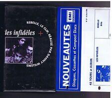 VHS LES INFIDELES REBELLE LE CLIP (1990 TREMA)