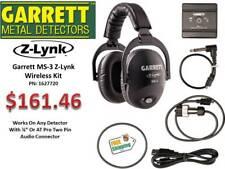 NEW Garrett  MS-3 Z-LYNK Wireless Headphone Kit - FREE Shipping