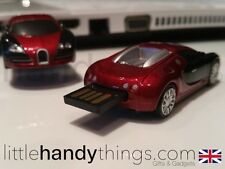 SUPERCAR 8GB USB BUGATTI FLASH DRIVE PORTATILE PEN DRIVE MEMORIA / STICK Gift